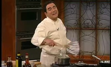 Emeril Lagasse Makes A Rice Pudding