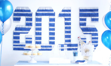 Fringed Graduation Party Decoration