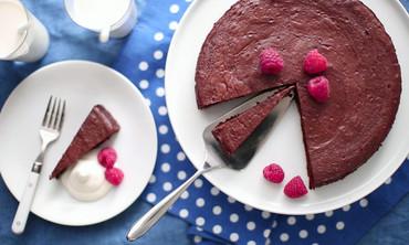 Gluten Free Chocolate Truffle Torte