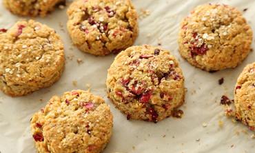 Gluten Free Cranberry Quinoa Scones