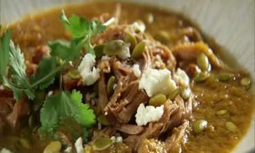 Green Chili and Tomatillo Pork Stew
