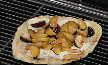 Grilled Plum and Goat Cheese, Part 2