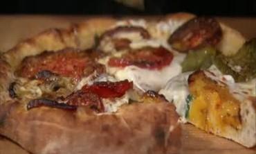 Homemade Heirloom Tomato Pizza, Pt. 2