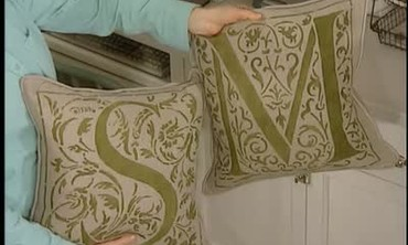 How To: Hand Stenciled Fabric, Part 2