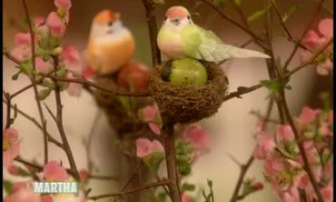 How To Make an Easter Nest Ornament