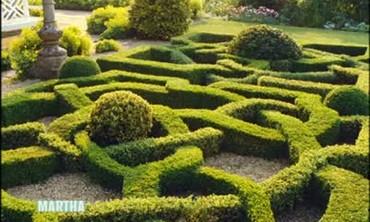 Martha Stewart's Katonah Knot Garden