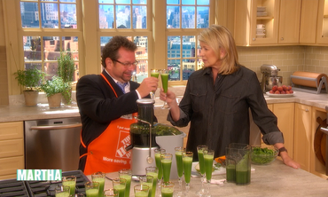 Martha Stewart's Morning Green Juice