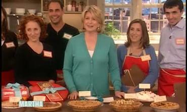 Martha Stewart's Pie Bake Off Winner