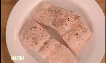 Poached Salmon Nicoise Salad, Part 1
