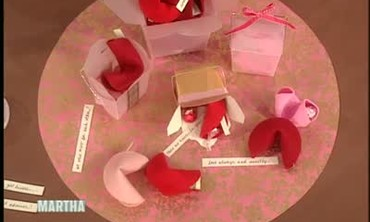 Valentine's Day Felt Fortune Cookies