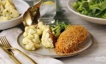 How to make Crispy Roasted Cauliflower Thumbnail
