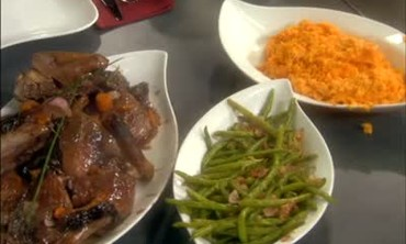 Braised Duck with Green Beans Part 4