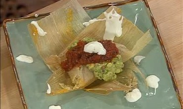 Cheesy Chicken Tamales Recipe Part 2