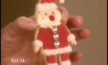 Decorated Santa Claus Cookies, Part 2