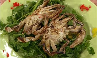 Grilled Soft-Shell Crab Salad, Part 2