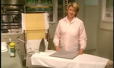 How to Iron a Tablecloth and Napkins