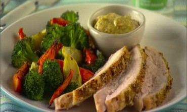 How to: Mustard-Crusted Turkey Breast