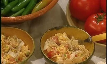 Huevos a la Mexicana or Mexican Eggs