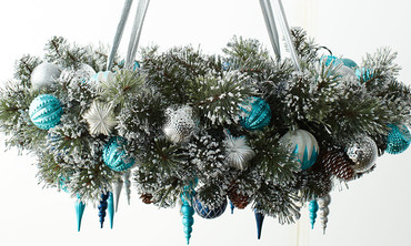 Learn & Do Holiday:  Wreath Chandelier