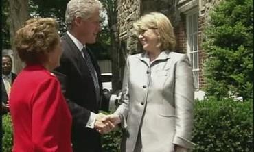 Martha Hosts a Presidential Luncheon