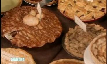 Martha Stewart's Pie Bake Off Contest