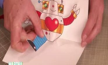 Pop-Up Robot Cards with David Carter