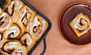 Pumpkin Cinnamon Rolls Like No Other