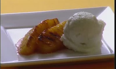 Quick and Easy Caramelized Pineapple