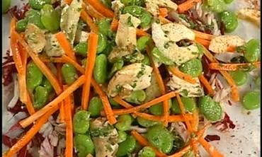 Radicchio and Porcini Mushroom Salad