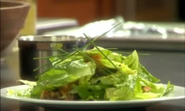 Romaine Salad with Homemade Croutons