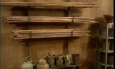 Tom Tamburello Builds A Storage Rack