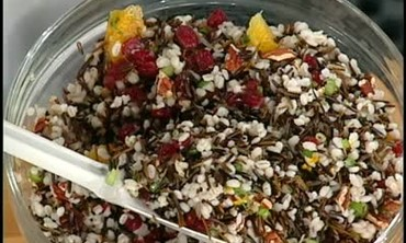 Wild Rice and Barley Salad Side Dish
