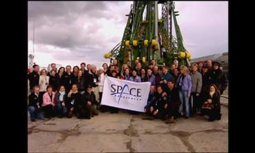 A Friendly Space Send-Off in Baikonur