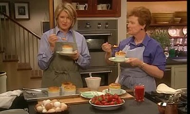 Anne Willan's Tangerine Souffle, Part 2