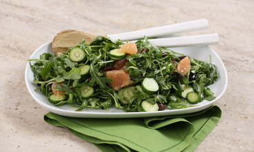 Arugula Salad with Citrus Viniagrette