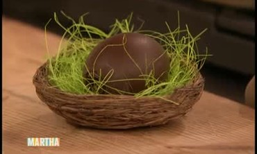 Chocolate Easter Eggs with Lisa Rinna