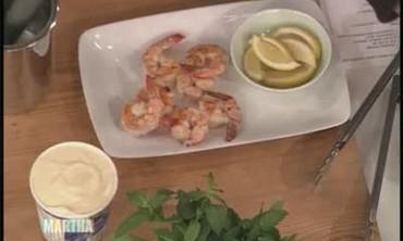 George Foreman's Grilled Shrimp, Part 2