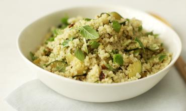 Gluten-Free Zucchini and Quinoa Salad