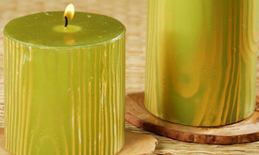 Good Things: Faux Bois Candles Project