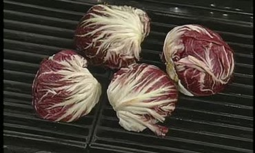 Grilled Radicchio and Toasted Walnuts