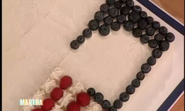 How to Decorate an American Flag Cake