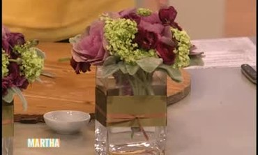 How to Make a Kale Flower Arrangement
