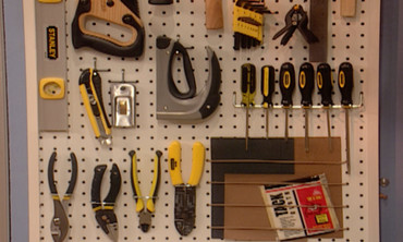 How to Make a Pegboard Tool Organizer