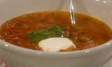 How to Make Tuscan Tomato Soup, Part 1