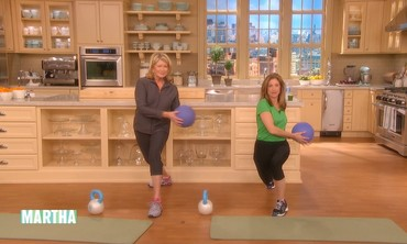 Kettle Bell and Medicine Ball Workout