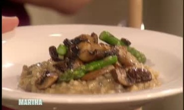 Mushroom and Asparagus Risotto, Part 2