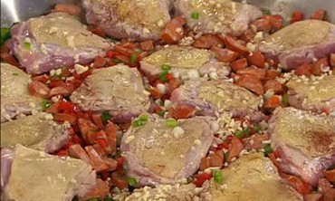 Paella Mixta with Chicken and Chorizo