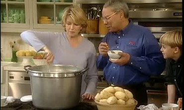 Potato Soup with General Colin Powell