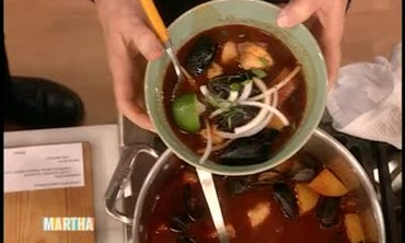 Rick Bayless and Mexican Seafood Soup