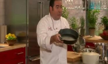 Spicy Steak Fajita in a Cast Iron Pan